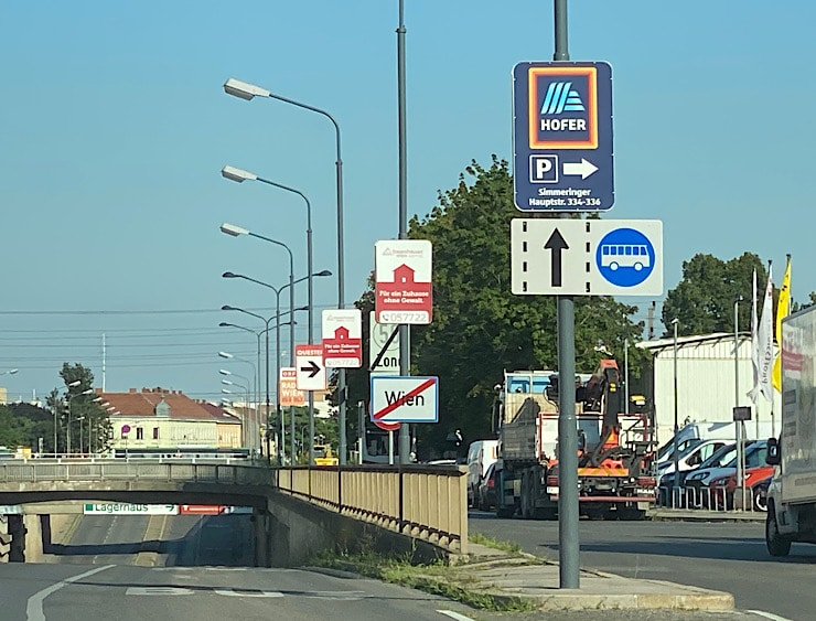 Ausfahrt Wien