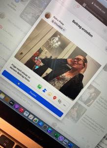 FB Beitrag vor dem Veröffentlichen
